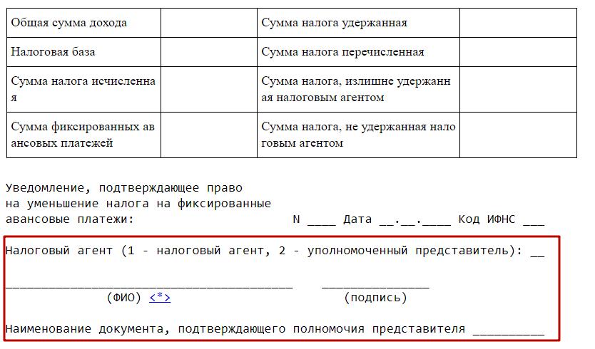 2 ндфл уполномоченный представитель исправить кредитную историю Панфиловская