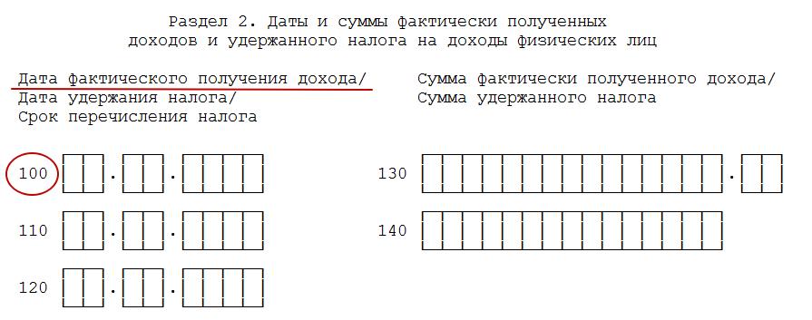 Дата фактического получения дохода 6 ндфл документы для кредита в москве Голиковский переулок