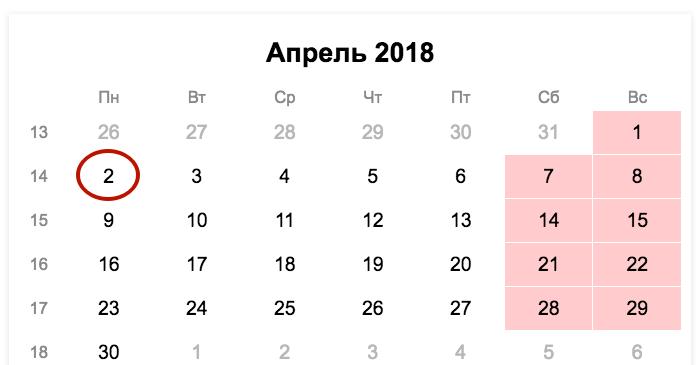 Сроки сдачи 6-НДФЛ в 2019 году: таблица