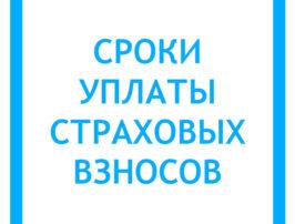 sroki-uplaty-strakhovykh-vznosov