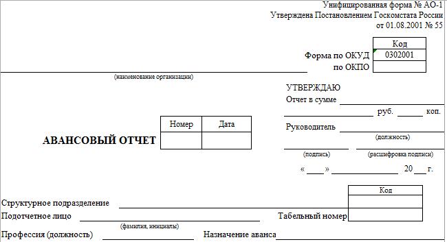 avansovyj_otchet_blank