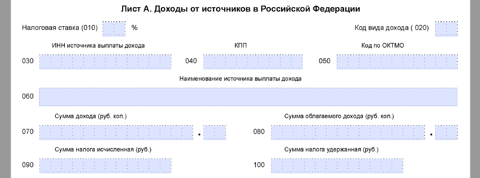 3 ндфл второй год имущественного вычета пакет документов для получения кредита Дмитровка Большая улица