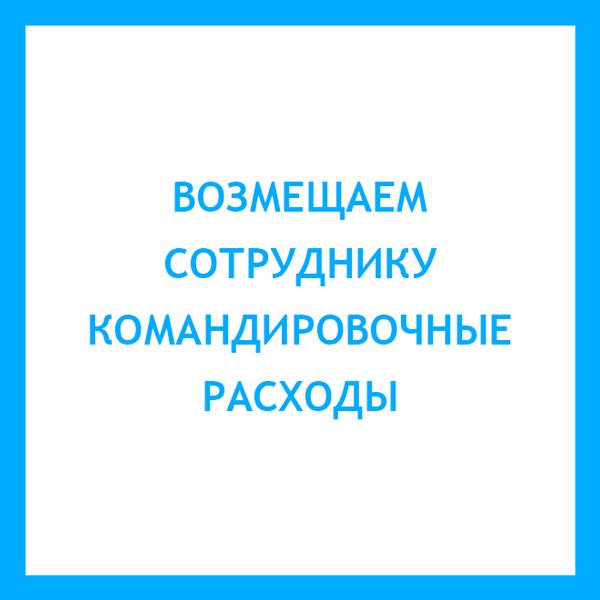 Заявление о возмещении командировочных расходов (образец 2019)