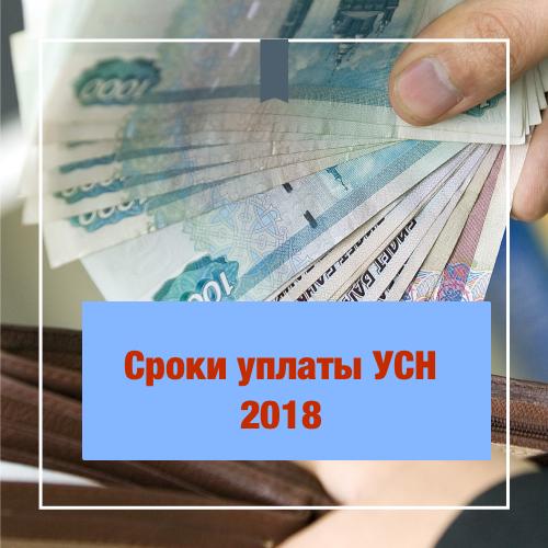 Каков срок уплаты налога при УСН за 4 квартал? || Срок уплаты УСН за 4 квартал 2018 года в 2019 году