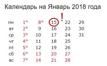 C:\Users\Вова\Desktop\БУХГУРУ\ноябрь 2017\ВЕБ СЗВ-М за декабрь 2017 года\yanvar'-2018-kalendar'.png