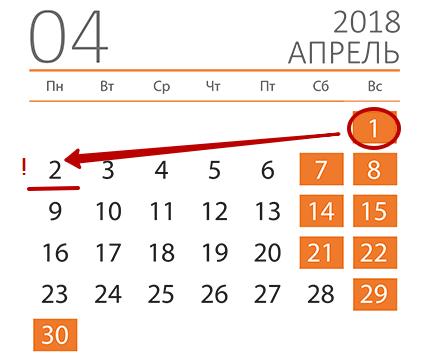 C:UsersВоваDesktopБУХГУРУянварь 2018ВЕБ Срок сдачи 6-НДФЛ за 4 квартал 2017 годаaprel