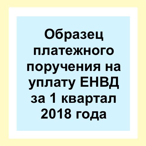 КБК ЕНВД (вмененка) для ИП в 2019 году