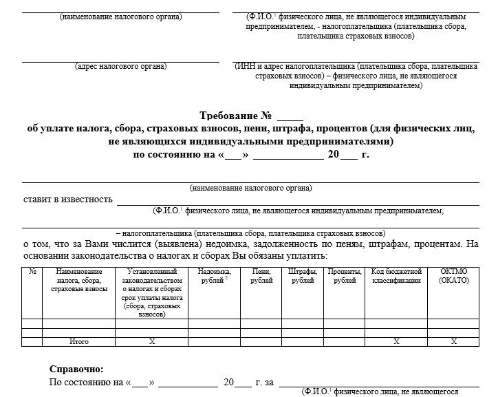 C:\Users\Вова\Desktop\БУХГУРУ\апрель 2019\ВЕБ Обязательные реквизиты требования об уплате налога физического лица\trebovanie-nalog-fizlico.png