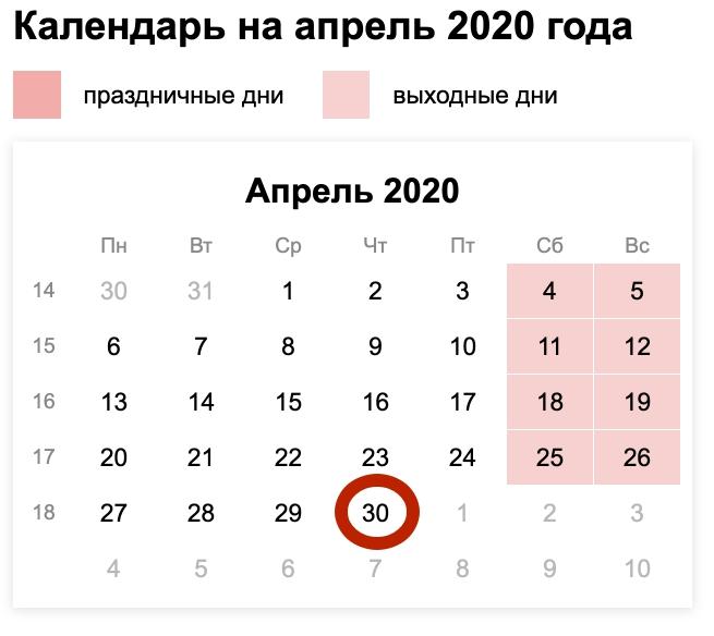 Срок оплаты 3 ндфл в 2020 году